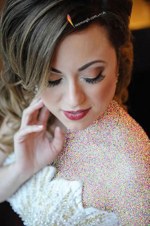 مدل آرایش عروس برای بهار 2016 - مدل شماره 9