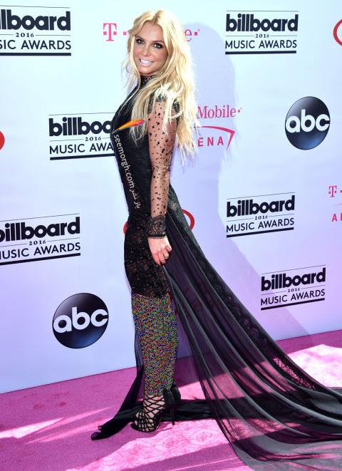 britney spears مدل لباس ستارگان هالیوودی در مراسم جوایز بیلبورد