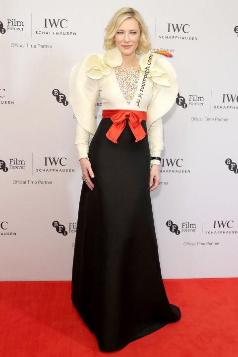 مدل لباس کیت بلانشت Cate Blanchett در هفته مد نیویورک