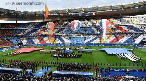 تصاویر مراسم اختتامیه یورو 2016