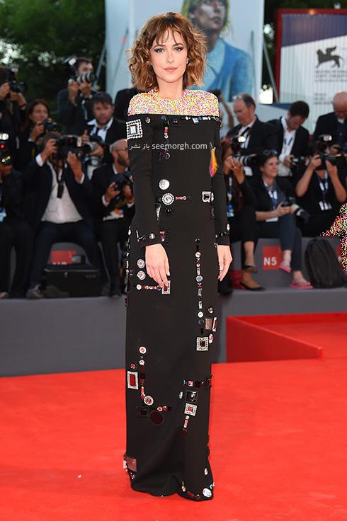 مدل لباس داکوتا جوهانسون Dakota Johnson در جشنواره فیلم ونیز 2016