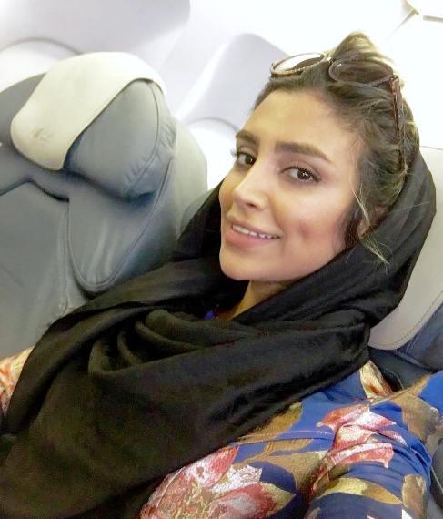 الهام عرب قبل از آرایش