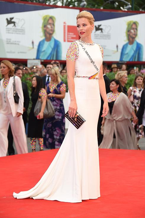 مدل لباس الیزابت بنک Elizabeth Banks در جشنواره فیلم ونیز 2016