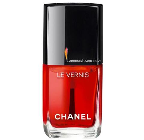 لاک ناخن برند Chanel برای پاییز 2016 - قرمز روشن