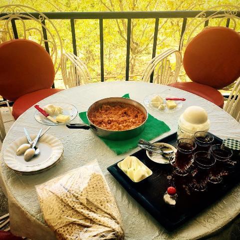 صبحانه الناز حبیبی
