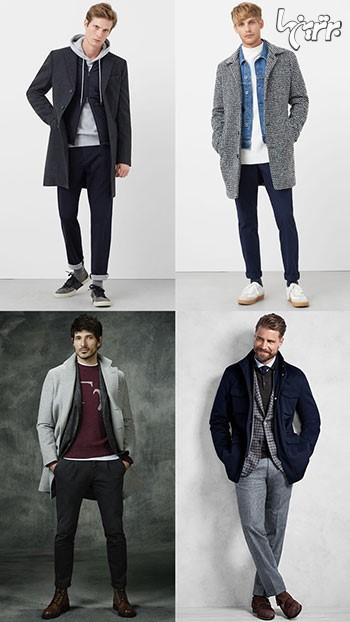 چند لایه لباس پوشیدن، ساده است