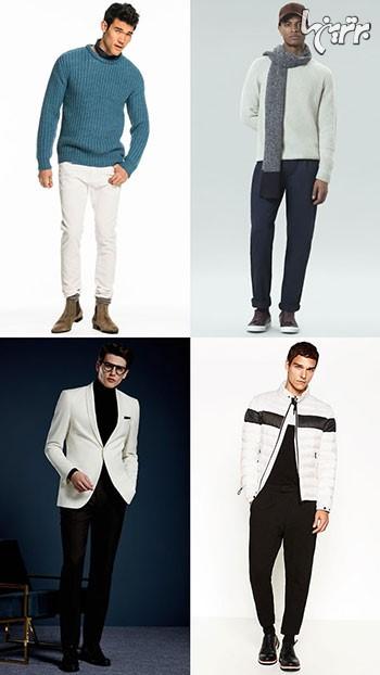 نباید در پاییز و زمستان سفید پوشید