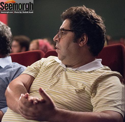حضور فرهاد اصلانی در مراسم رونمایی از فیلم های پوران درخشنده