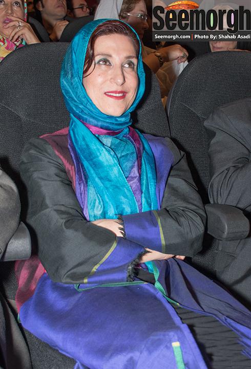 فاطمه معتمدآریا در  هجدهمین جشن سینمای ایران
