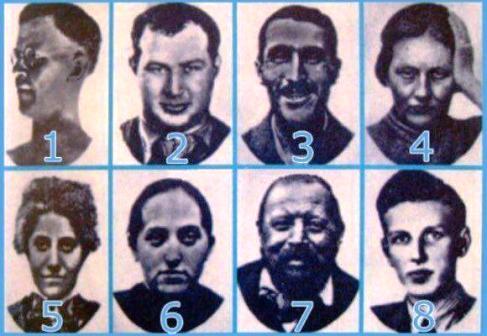 از کدام چهره بیشتر می ترسید؟