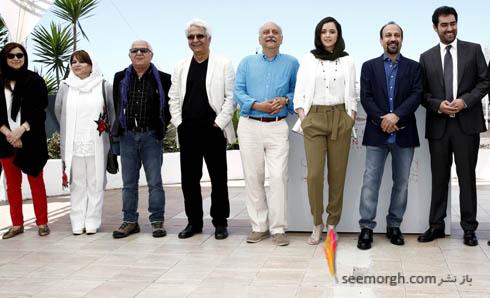 عوامل فیلم فروشنده در کن 2016