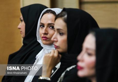 گلاره عباسی در کنار شبنم مقدمی