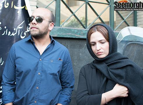 عکس جدید گلاره عباسی در کنار زنش