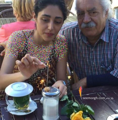 جشن تولد گلشیفته فراهانی در کنار بهزاد فراهانی