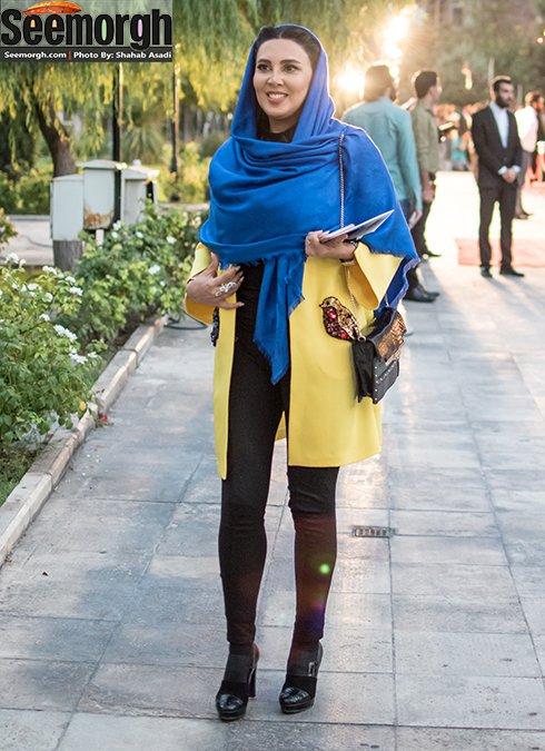 مدل لباس لیلا بلوکات در جشن حافظ