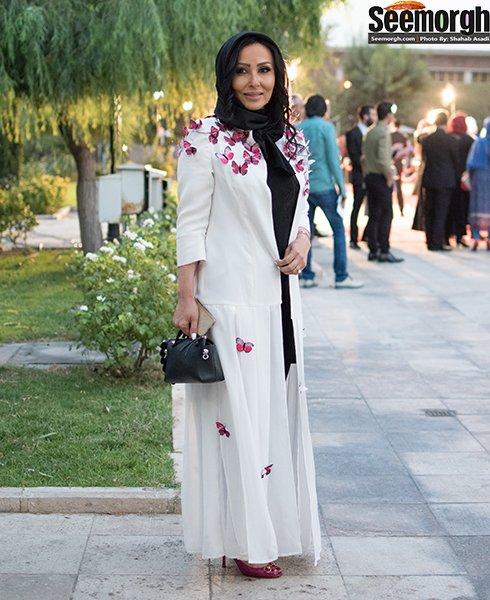مدل لباس پرستو صالحی در جشن حافظ