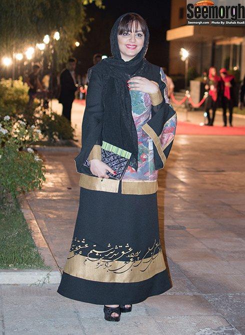 مدل لباس لیلا برخورداری در جشن حافظ