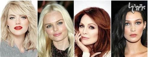 رنگ مو های تان را بر اساس رنگ پوست و رنگ چشم تان انتخاب کنید