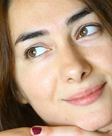 چهره بدون آرایش هانیه توسلی
