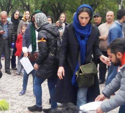 هدیه تهرانی در روز سیزده بدر