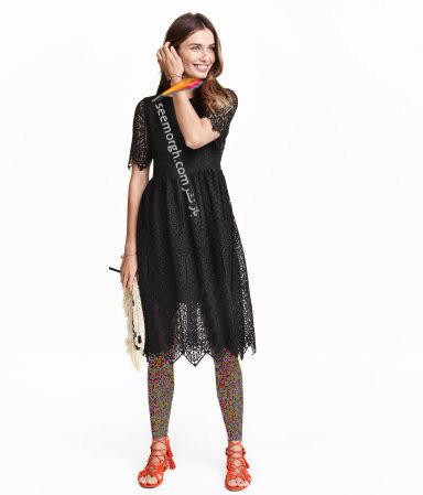 پیراهن زنانه اچ اند ام H&M برای بهار 2016 - شماره 8