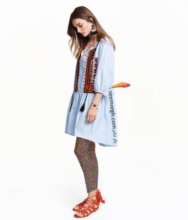 پیراهن زنانه اچ اند ام H&M برای بهار 2016 - شماره 10