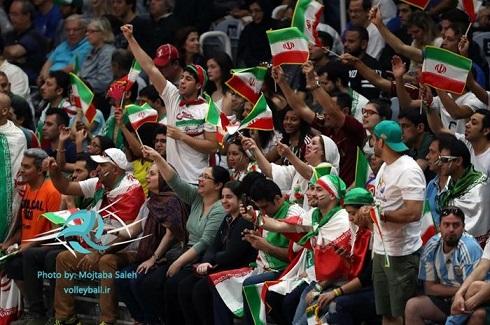 تماشاگران ایرانی در المپیک 2016