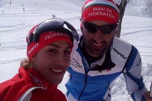 عکس ملی پوش ایران و همسرش