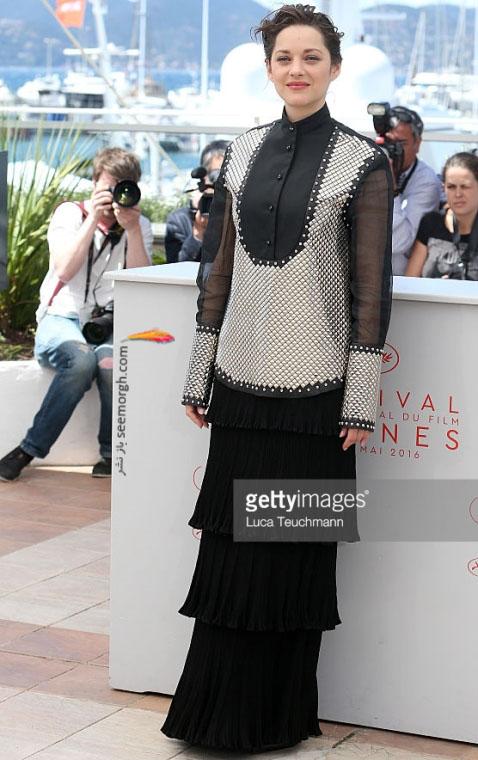 ماریون کوتیلارد بازیگر فرانسوی که با دوفیلم در کن 2016 حضور دارد