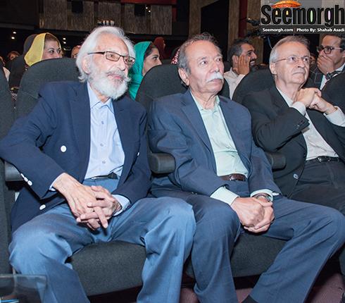 جمشید مشایخی و علی نصیریان بزرگان سینمای ایران