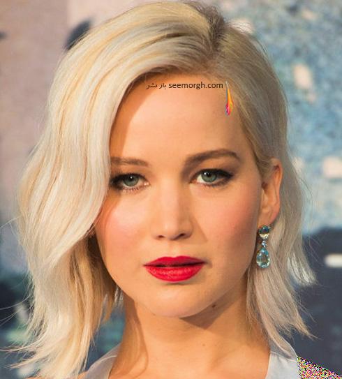 مدل مو پاییزی به سبک جنیفر لارنس Jennifer Lawrence