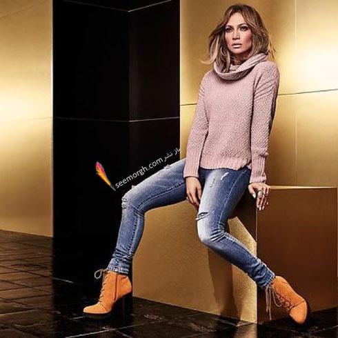 ست کردن شلوار جین به سبک جنیفر لوپز Jennifer Lopez برای پاییز 2016 - ست شماره 2