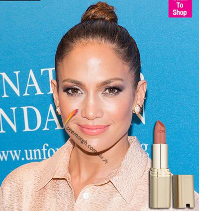 آرایش لب به پیشنهاد جنیفر لوپز Jennifer Lopez - عکس شماره 3