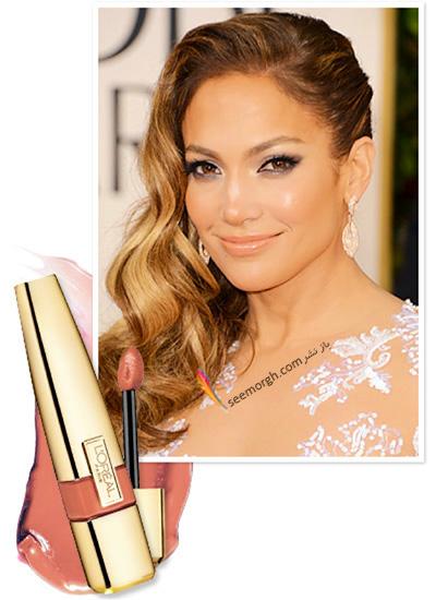 آرایش لب های تان را به سبک جنیفر لوپز انتخاب کنید