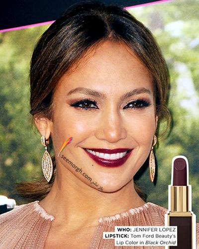 آرایش لب به پیشنهاد جنیفر لوپز Jennifer Lopez - عکس شماره 5