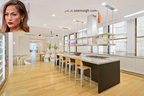 دکوراسیون آشپزخانه جنیفر لوپز Jennifer Lopez