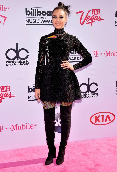 jessica alba مدل لباس ستارگان هالیوودی در مراسم جوایز بیلبورد