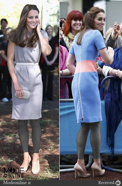مدل لباس و سبک لباس پوشیدن کیت میدلتون Kate Middleton
