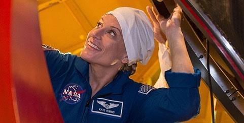 کیت رابینز فضانورد 37 ساله آمریکایی