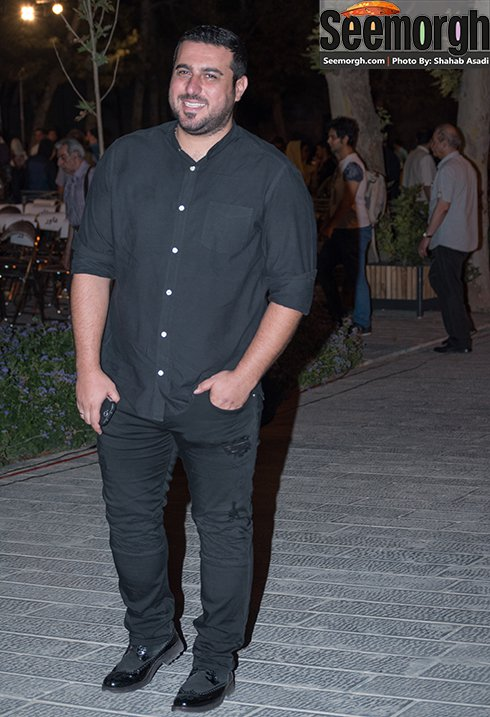 مدل لباس محسن کیایی در جشن خانه سینما