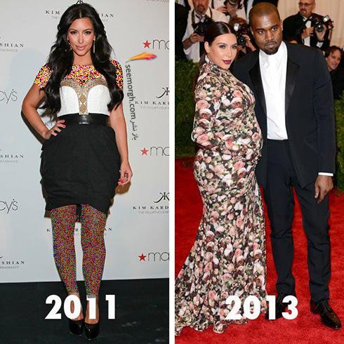 بهترین مدل لباس های کیم کارداشیان Kim Kardashian به انتخاب مجله ال Elle - عکس شماره 6