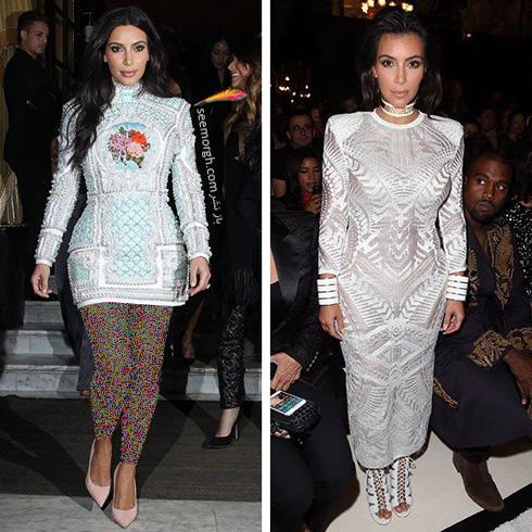 بهترین مدل لباس های کیم کارداشیان Kim Kardashian به انتخاب مجله ال Elle - عکس شماره 7