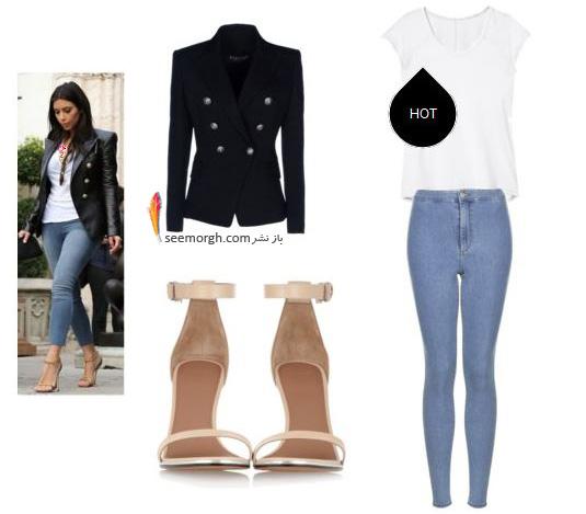 ست کردن لباس میهمانی به سبک کیم کارداشیان Kim Kardashian - عکس شماره 7