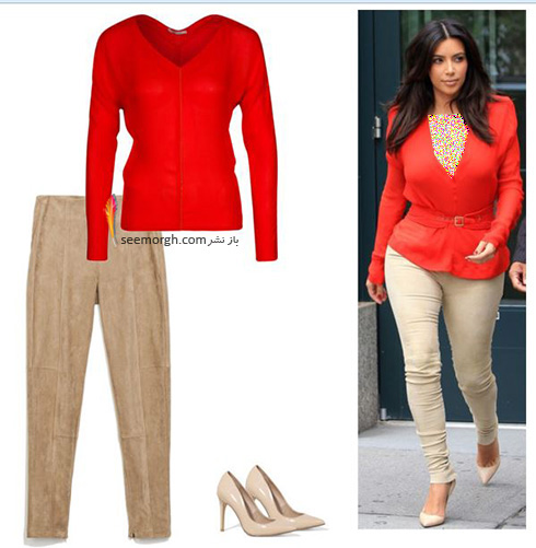 ست کردن لباس میهمانی به سبک کیم کارداشیان Kim Kardashian - عکس شماره 10