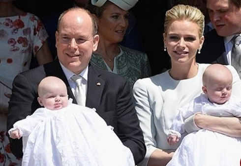 عکس شاهزاده موناکو و همسرش