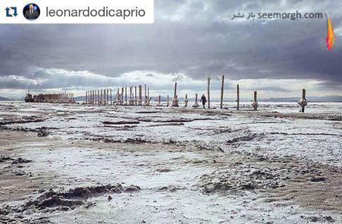 عکس گرفته شده توسط سولماز دریانی و منتشر شده توسط دی کاپریو