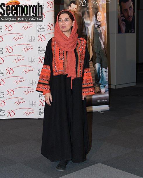 مدل مانتو مئده طهماسبی در اکران متولد 65