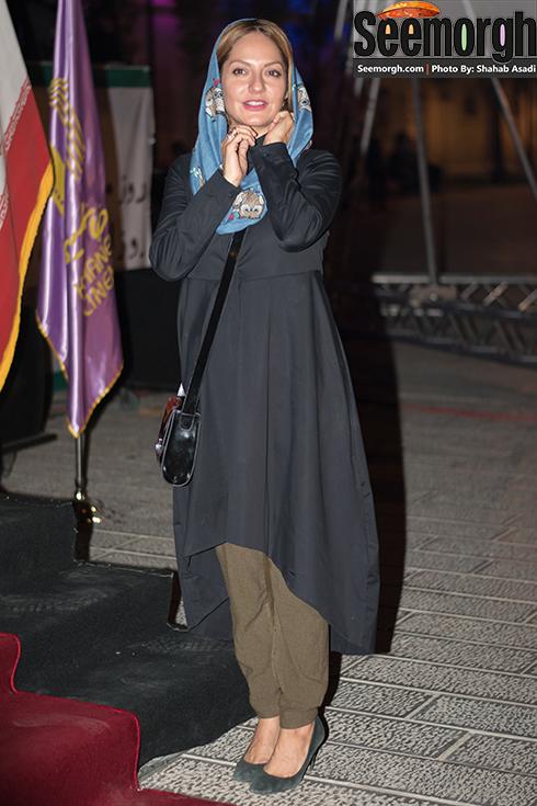 چهره مهناز افشار در جشن خانه سینما
