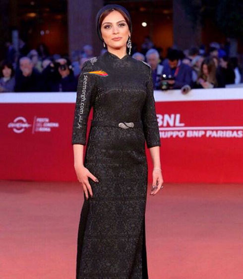 مدل لباس مارال فرجاد در جشنواره فیلم رم - عکس شماره 1