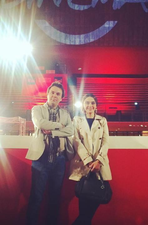 مارال فرجاد در جشنواره فیلم رم ایتالیا